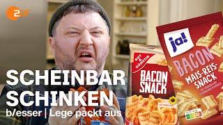 Bacon Beschiss: Sebastian enthüllt den Aroma-Trick bei Billig-Snacks | Lege packt aus