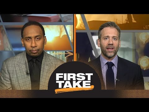 756113b7668d Stephen A. and Max react to LeBron James  game-winner vs. Raptors