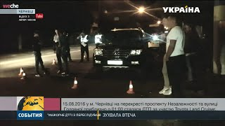 У мережу потрапило відео нічної гонитви поліції у Чернівцях