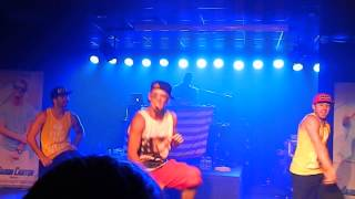 Aaron Carter - Another Earthquake (Live in Portland) Great Quality