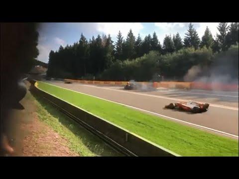 """Французький пілот """"Формули-2"""" Юбер загинув під час гонки в Бельгії"""