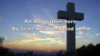 The Wonderful Cross (lyrics)  Chris Tomlin & Matt Redman