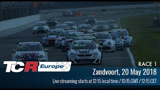 TCR_Europe_Series - Zandvoort2018 Round3 Race1 Full