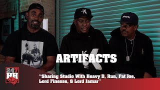Artifacts - Sharing Studio With Heavy D, Fat Joe, Lord Finesse, & Lord Jamar (247HH Exclusive)