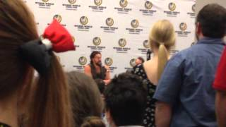 Jason Momoa/Джейсон Момоа, Jason Momoa Panel at Wizard World Louisville 2014 (Part II)
