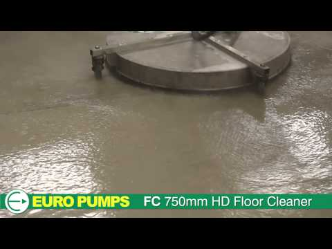 Euro Pumps | Cleaning Equipment | FC 750 Heavy Duty Floor Cleaner