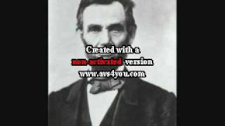 Young Abe Lincoln (Make A Tall, Tall Man)-Johnny Horton.wmv