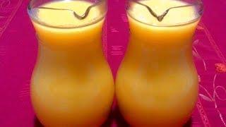 عصير مشمش مبرد رائع ، سهل و سريع يعطي كمية كبيرة Jus D'Abricot