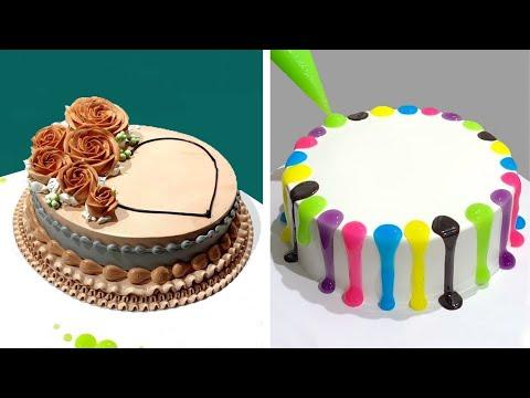Ideias de decorao de bolo | Tutorial de decorao de bolos para o fim de semana