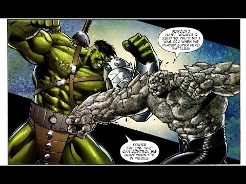 World War Hulk vs. Wolverine & the X-Men