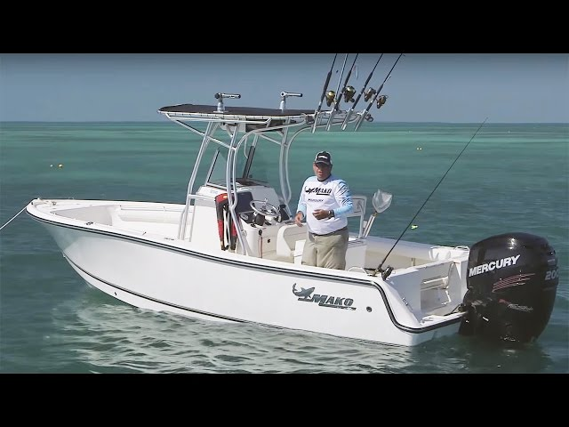 MAKO Boats: 214 CC Walk Around Review with Captain Diego Toiran