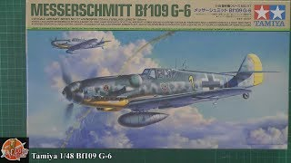 Tamiya 1/48 Bf109 G-6 Review