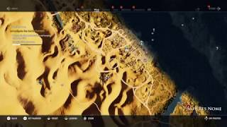 Location of The temple of a million years (AC Origins)