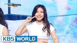 Gugudan (구구단) - Wonderland [Music Bank / 2016.07.08]
