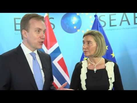 Press statement Mogherini and Brende