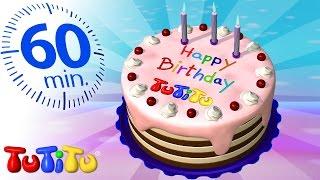TuTiTu Specials | Birthday Cake | And Other Popular TuTiTu Videos | 1 HOUR Special