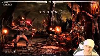 MKX - Reptile vs Kung Jin - I almost quit...