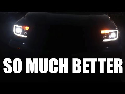 TUNDRA GETS LED HEADLIGHTS Mp3