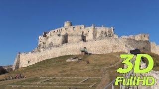preview picture of video '[3DHD] Spiš Castle, Spišské Podhradie, Slovakia / Spišský hrad, Slovensko / Zamek Spiski'