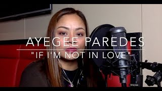 If I'm Not In Love - Faith Hill (cover)