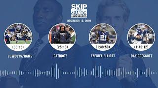 Cowboys/Rams, Patriots, Ezekiel Elliott, Dak Prescott | UNDISPUTED Audio Podcast