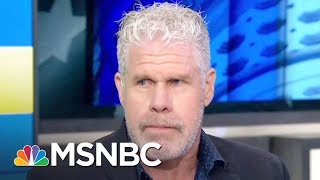 Ron Perlman Talks President Donald Trump Speech Patterns | AM Joy | MSNBC
