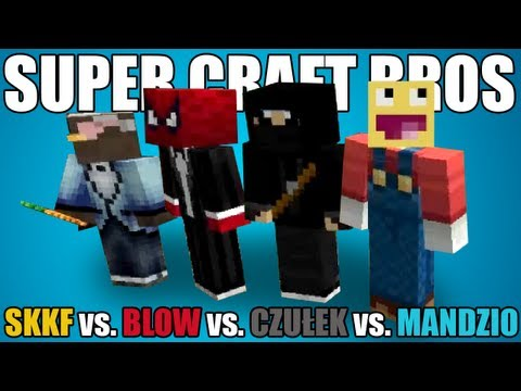 Super Craft Bros: SKKF vs. BLOW vs. CZUŁEK vs. MANDZIO!