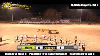 Prairie Grove (34) vs Pottsville (28) 2012