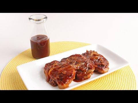 Skillet BBQ Glazed Pork Chops Recipe – Laura Vitale – Laura in the Kitchen Episode 941