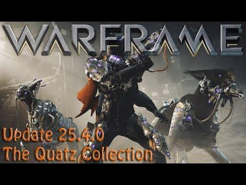 Warframe - Update 25.4.0: The Quatz Collection