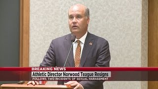 U Of M Athletic Director Norwood Teague Resigns