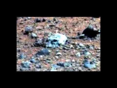 Alien Skull Found on Mars,  Mars Rover 2014, Anomalies