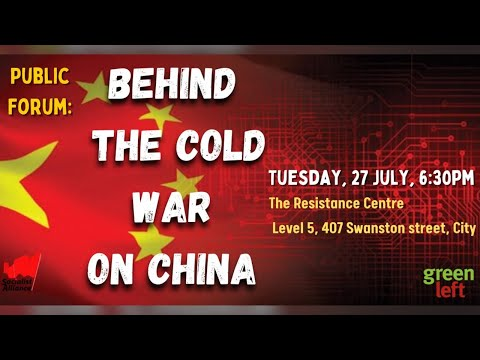 Public Forum: Behind the Cold War on China