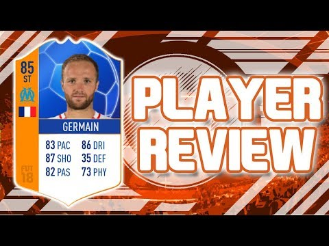 FIFA 18 - MOTM 85 RATED VALERE GERMAIN PLAYER REVIEW!!! FIFA 18 ULTIMATE TEAM PLAYER REVIEW!!!