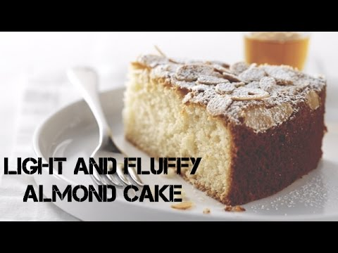 Video Light and Fluffy Almond Cake (From Scratch Almond Cake)