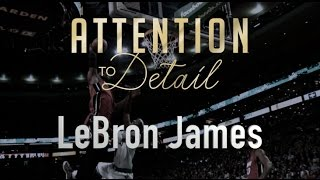 Attention to Detail: LeBron James