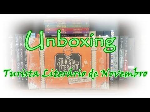 Unboxing Turista Literário de Novembro (2017) + Resultado do sorteio