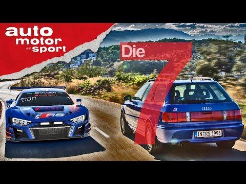 25 Jahre RS  - 7 Fakten zum Audi-Jubiläum | auto motor und sport