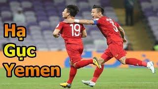 Thử Thách Bóng Đá Asian Cup 2019 ĐT Việt Nam VS Yemen Quang Hải , Quế Ngọc Hải , Phan Văn Đức goal