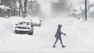 Michigan's Upper Peninsula buried in snow
