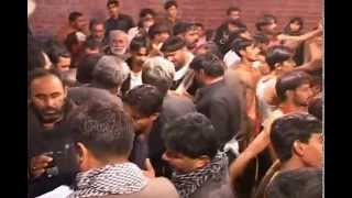 preview picture of video 'anjuman qaim e all e muhammad Domki sangat larkana'