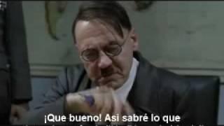 Hitler se queja del Anime de Haruhi Suzumiya