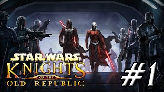THE SAGA BEGINS | Star Wars: Knights of the Old Republic - PART 1