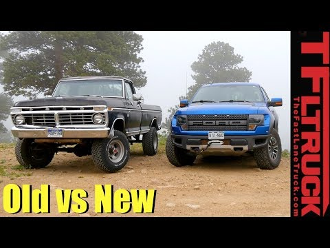 Old Vs New: 1974 Ford Highboy Vs Raptor Vs Cliffhanger 2.0 Off-Road Review