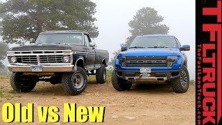 Old vs New: 1974 Ford Highboy vs Raptor vs Cliffhanger 2.0 Off-Road Review