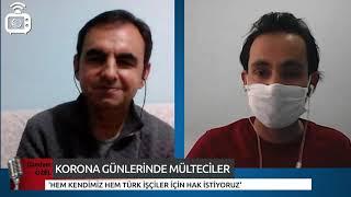 Korona günlerinde mülteciler: Evde kalamayız çalışmak zorundayız