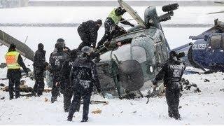 Berlin police investigate Olympic Stadium helicopter crash