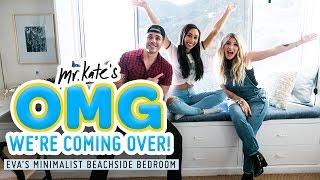 MyLifeAsEva's Minimalist Beachside Bedroom Makeover | OMG We're Coming Over