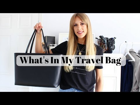 WHAT'S IN MY TRAVEL BAG – Carl Friedrik Ashby Tote Review