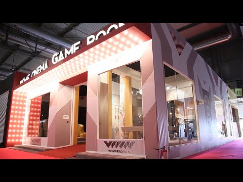 Salone Del Mobile 2019   Vismara Italian Luxury Furniture for high-end Home Theater & Game Room